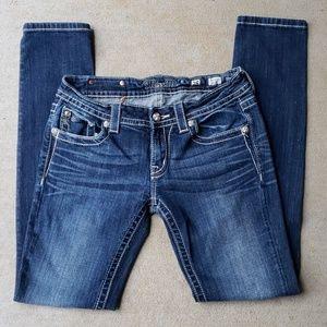 Miss Me Skinny Jeans.  Size 28